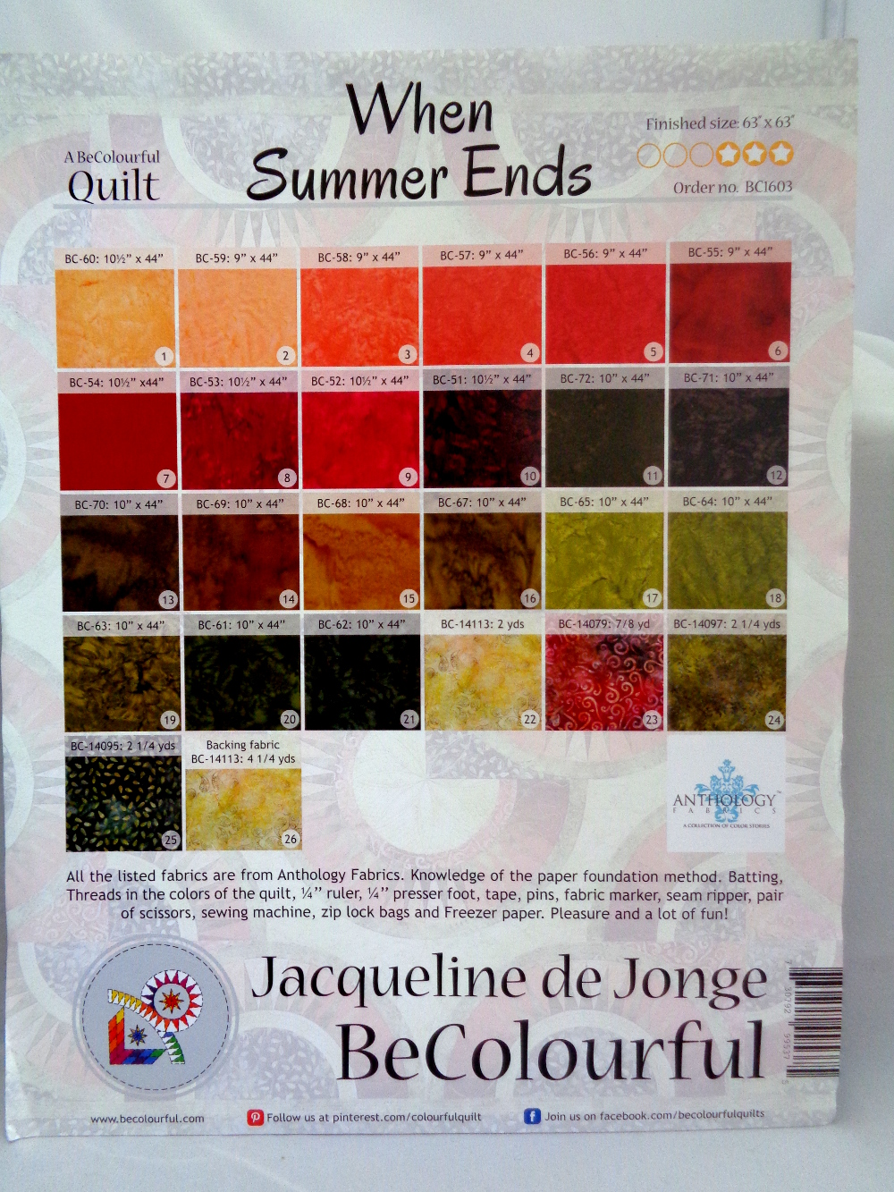 summer2   Sew Patch n Quilt